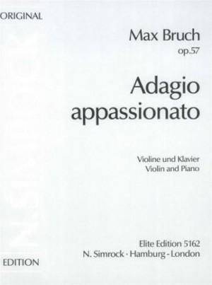 Bruch, M: Adagio appassionato op. 57