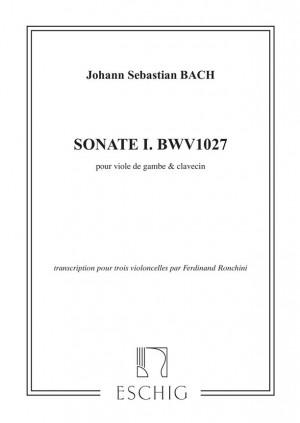 Bach: Sonata No.1, BWV1027