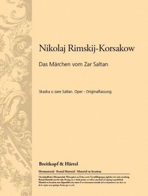 Rimsky-Korsakov: Das Märchen von Zar Saltan (libretto)