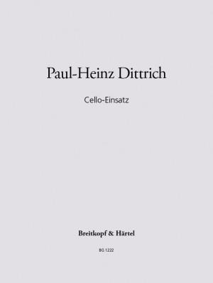 Dittrich: Cello-Einsatz