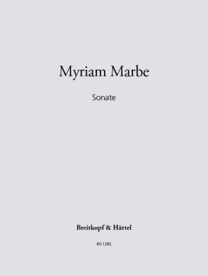 Marbe: Sonate Product Image