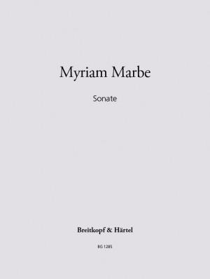 Marbe: Sonate