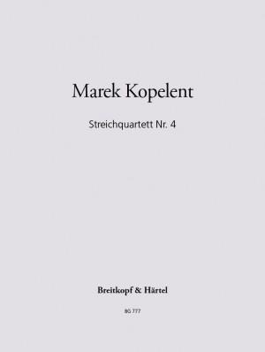 Kopelent: Streichquartett, Nr. 4