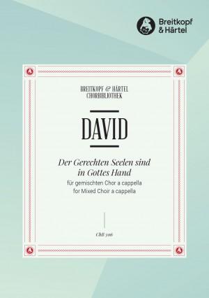 David, J: Der Gerechten Seelen