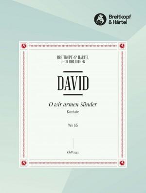 David, J: O Wir armen Sünder Wk 65