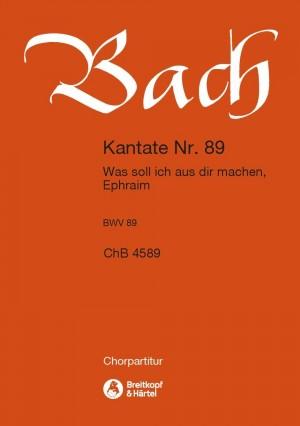 Bach, JS: Kantate 89 Was soll ich aus