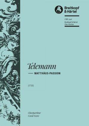 Telemann, G: Matthäus-Passion