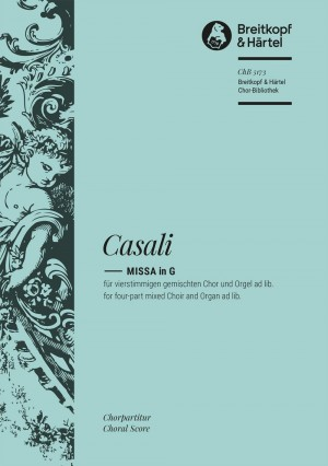 Casali, G: Missa in G