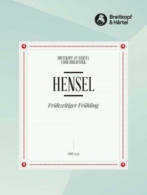 Hensel, F: Frühzeitiger Frühling