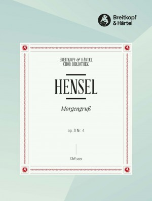 """Hensel, F: Morgengruss """"Schnell fliehen"""""""