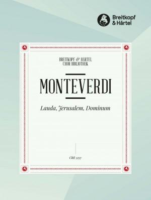 Monteverdi, C: Lauda, Jerusalem, Dominum