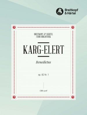 Karg-Elert, S: Benedictus op. 82/1