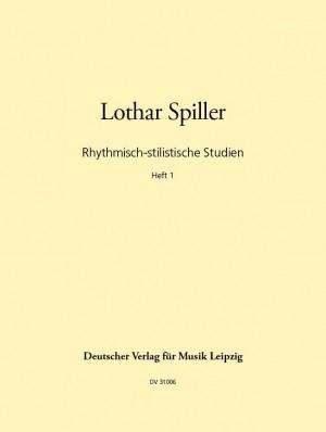 Spiller: Rhythmische stilist. Studien 1