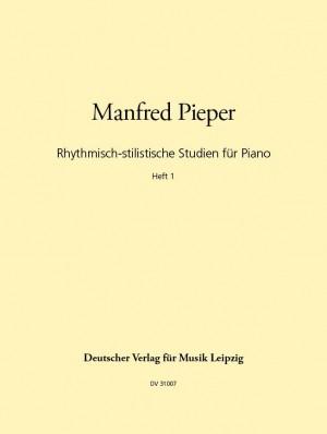Pieper: Rhythmische stilist. Studien