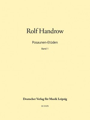 Handrow: Posaunen-Etüden, Band 1