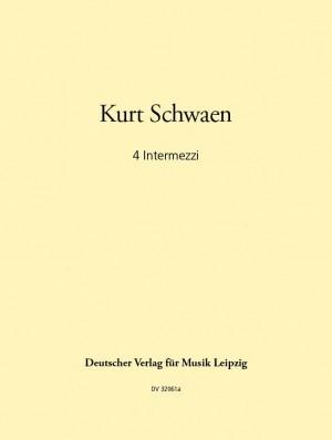 Schwaen: Vier Intermezzi