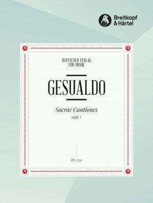 Gesualdo, D: Sacrae Cantiones 1