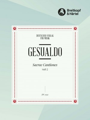 Gesualdo, D: Sacrae Cantiones 2