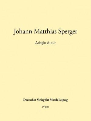 Sperger: Adagio A-dur