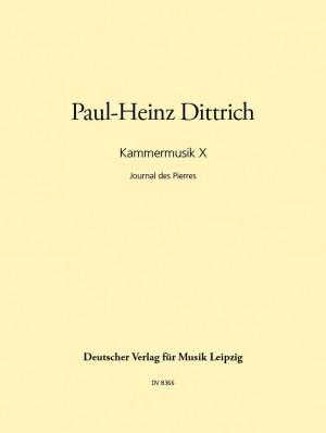 Dittrich: Kammermusik X (1990)
