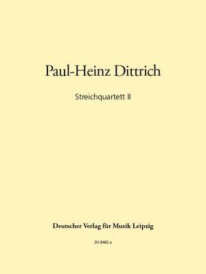 Dittrich: Streichquartett 1982