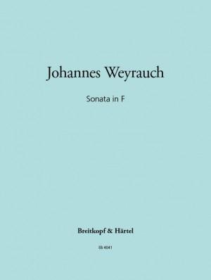 Weyrauch: Sonate in F