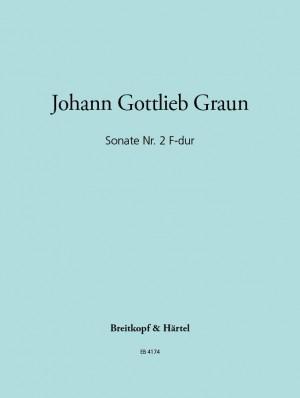 Graun: Sonate Nr. 2 F-dur