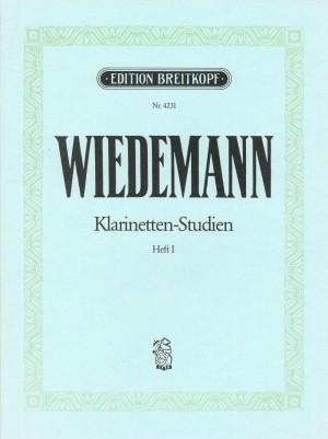 Wiedemann: Klarinetten-Studien, Band I