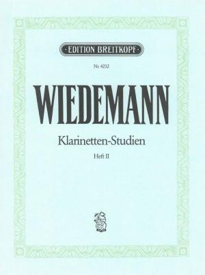 Wiedemann: Klarinetten-Studien, Band II