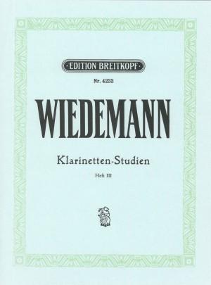 Wiedemann: Klarinetten-Studien, Band III