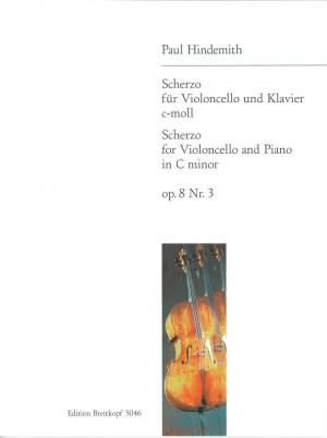 Hindemith: Scherzo c-moll op. 8/3