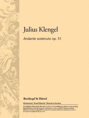 Klengel: Andante Sostenuto op. 51