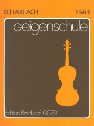 Scharlach: Geigenschule, Heft 2