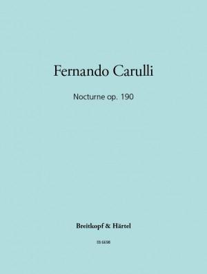 Carulli: Nocturne op. 190