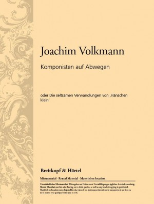 Volkmann: Komponisten auf Abwegen Heft 1