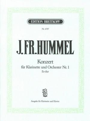 Hummel: Klarinettenkonzert Nr.1 Es-dur