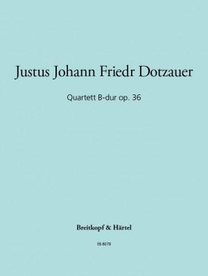 Dotzauer: Quartett op. 36