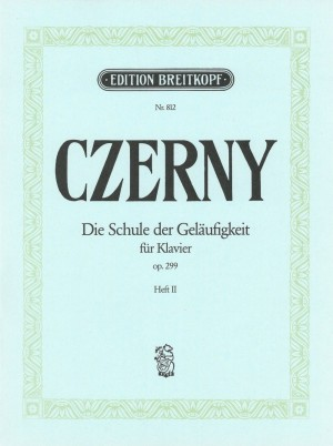 Czerny: Schule Geläufigkeit op. 299/2