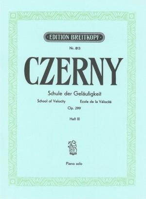 Czerny: Schule Geläufigkeit op. 299/3