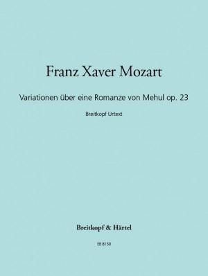 Mozart: Variationen ü. Romanze v.Mehul