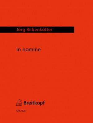 Birkenkötter: in nomine