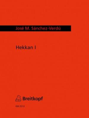 Sanchez-Verdu: Hekkan I für Bläserquintett (2008)