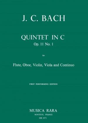 Bach: Quintett C-dur op. 11/1
