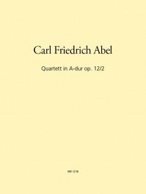 Abel: Quartett in A op. 12/2