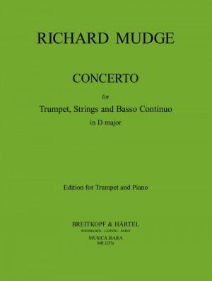 Mudge, R: Concerto in D