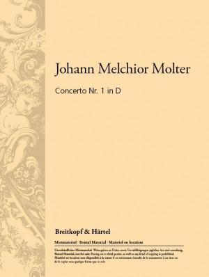 Molter: Concerto Nr. 1 in D MWV IV/12