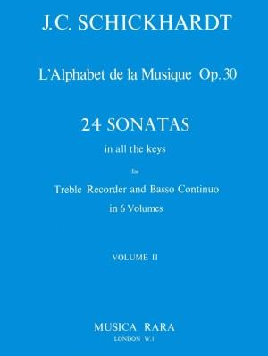 Schickhardt: L'Alphabet: Sonaten op.30/5-8