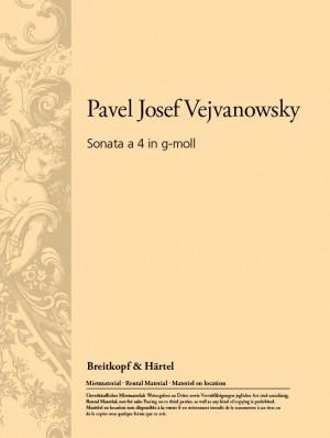 Vejvanowsky: Sonata a 4 in g