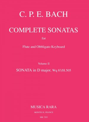 Bach, CPE: Sonate in D Wq 83