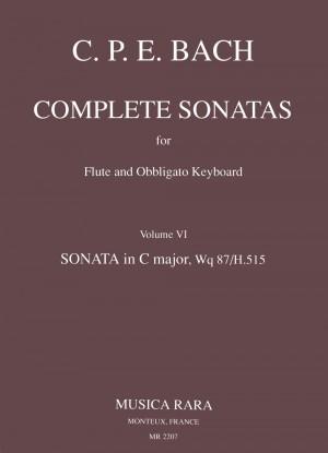 Bach, CPE: Sonate in C Wq 87
